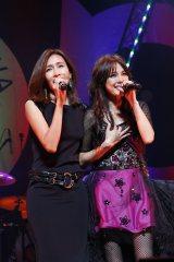 憧れの歌手・工藤静香(左)と20周年ライブで初共演した相川七瀬