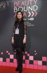 次世代ビューティークリエイター発掘のために行われたプログラム「Beauty Bound Asia」に、JUDGESとして参加したLuv2bfreeさん (C)oricon ME inc.
