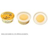 黄身の部分がマンゴー、白身はレアチーズの2層 (C)2013, 2015 SANRIO CO., LTD. TOKYO, JAPAN(H)
