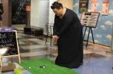 """""""無趣味""""を標榜するマツコがついに趣味を発見!? まさかの場所でゴルフに初挑戦(C)テレビ朝日"""