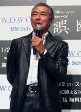 柳葉敏郎=WOWOW連続ドラマW『誤断』完成披露試写会 (C)ORICON NewS inc.