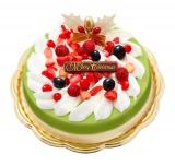 宇治茶の老舗「祇園辻利」のクリスマスアイスケーキ