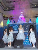 『TWINKLE STAR CHRISTMAS 2015 Twinkle Aurora Tree』点灯式の模様 (C)ORICON NewS inc.