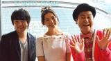 求人情報メディア『タウンワーク』とコラボした岩井俊二監督のショートアニメ『TOWN WORKERS』の感想を語り合う、おのののかとウーマンラッシュアワー