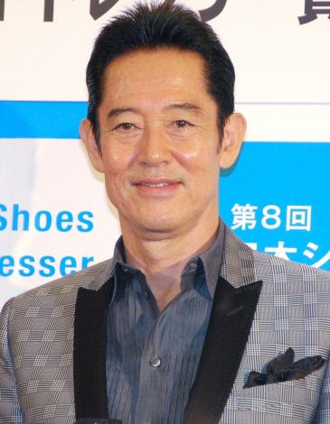 『第8回 日本シューズベストドレッサー賞』授賞式に出席した山下真司 (C)ORICON NewS inc.