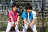 映画『金メダル男』に出演する(左から)木村多江、内村光良(C)「金メダル男」製作委員会
