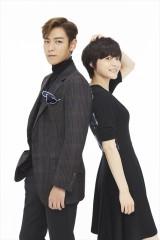 日韓同時配信されたウェブドラマ『シークレット・メッセージ』(日本ではdTVで独占配信)でW主演を務めるT.O.P from BIGBANGチェ・スンヒョンと上野樹里