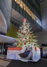 「渋谷ヒカリエ」のクリスマスツリー