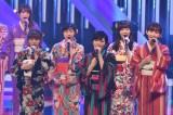 山本彩センターの朝ドラ主題歌「365日の紙飛行機」を着物姿で歌唱(C)ytv