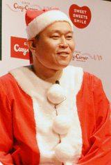 「夢のクリスマスケーキコンテスト2015」イベントに登場した千原せいじ (C)oricon ME inc.