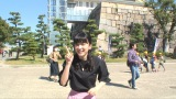 イベントまでの空き時間に大阪散策を楽しむ永野芽郁