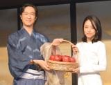 NHK大河ドラマの「バトンタッチセレモニー」に出席した(左から)堺雅人、井上真央 (C)ORICON NewS inc.