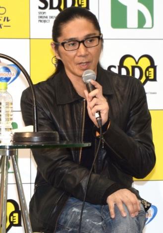 飲酒運転撲滅を呼びかけたTRFのSAM=FM OSAKA『Let's Join SDD PROJECT!! with TOYOTA』の公開録音イベント (C)ORICON NewS inc.