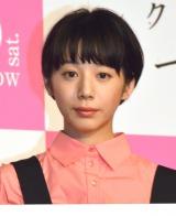 映画『ピンクとグレー』完成披露試写会舞台あいさつに登壇した夏帆 (C)ORICON NewS inc.