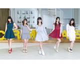 SKE48の新ユニット「キャラメルキャッツ」(左から二村春香、大場美奈、惣田紗莉渚、佐藤すみれ、木本花音)
