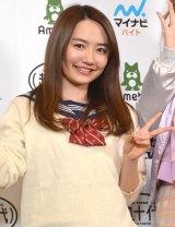 『超十代−ULTRA TEENS FES−2016@TOKYO』記者発表会に登壇した女子高生社長・椎木里佳 (C)ORICON NewS inc.