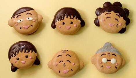 まるちゃん一家がドーナツに(C)さくらプロダクション / 日本アニメーション