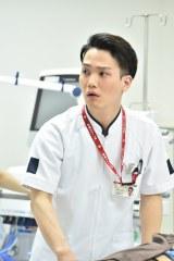 TBS系ドラマ『下町ロケット』第8話(12月6日放送)で研修医・葛西を演じる中村歌昇(C)TBS