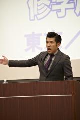 『沖縄修学旅行フェア2015東京/大阪』に出席したガレッジセール・ゴリ