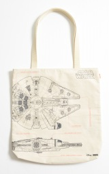 『STAR WARS THE FORCE AWAKENS SPECIAL BOOK』「MILLENNIUM FALCON」パターン特典のトートバッグ