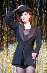 ブロードウェイミュージカル『シカゴ』来日公演のプレスコールに出席したシャーロット・ケイト・フォックス (C)ORICON NewS inc.