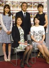 (前列左から)小野寺さん本人、堀内敬子、(後列左から)モーニング娘。'15の石田亜佑美、寺島進、星野真里 (C)ORICON NewS inc.