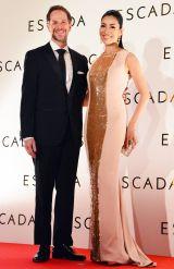 ESCADA 2016SSファッションショー 来場したセオドール・ミラー&アンミカ夫妻 (C)oricon ME inc.