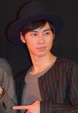 映画『アウターマン』の初日舞台あいさつに出席した戸塚純貴 (C)ORICON NewS inc.