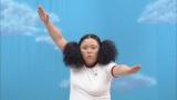12月8日放送、テレビ朝日系『ロンドンハーツ』は新企画「動けるおデブ女王決定戦!」に出演する江上敬子(ニッチェ)C)テレビ朝日