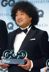 『GQ MEN of the Year 2015』授賞式に出席した葉加瀬太郎 (C)ORICON NewS inc.