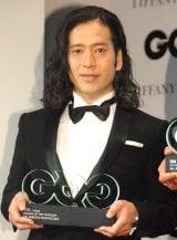 『GQ MEN of the Year 2015』授賞式に出席したピース・又吉直樹 (C)ORICON NewS inc.