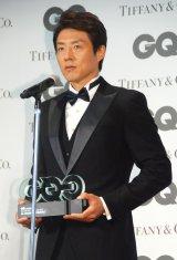 『GQ MEN of the Year 2015』授賞式に出席した松岡修造 (C)ORICON NewS inc.