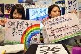 3周年記念のワンマンライブが決定したさんみゅ〜の野田真実(左)と小林弥生(右) (C)ORICON NewS inc.