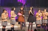 松井愛莉(左から3人目)&三吉彩花(同4人目)がさくら学院に復帰!?