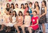 『第48回 ミス日本コンテスト2016』ファイナリスト13名がお披露目 (C)ORICON NewS inc.