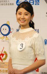 『第48回 ミス日本コンテスト2016』ファイナリスト・杉浦琴乃さん (C)ORICON NewS inc.