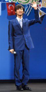 劇場版アニメ『映画ちびまる子ちゃん イタリアから来た少年』完成披露試写会舞台あいさつに出席した中川大志 (C)ORICON NewS inc.