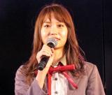 AKB48劇場公演で卒業を発表した永尾まりや (C)ORICON NewS inc.