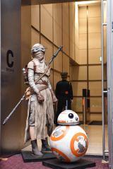 レイ&BB-8のフィギュア(C) 2015Lucasfilm Ltd. & TM. All Rights Reserved