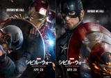 映画『シビル・ウォー/キャプテン・アメリカ』(2016年4月29日公開)で友情に苦悩するアイアンマン(左)とキャプテン・アメリカ(右)(C)2015 Marvel.