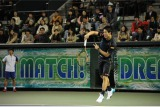 1月2日放送、『とんねるずのスポーツ王は俺だ!!』テニス対決の錦織圭選手(C)テレビ朝日