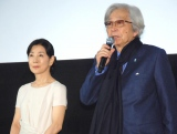 (左から)吉永小百合、山田洋次監督 (C)ORICON NewS inc.