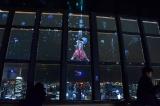 東京タワー(東京・港区)の「TOKYO TOWER CITY LIGHT FANTASIA 2015-2016」(2016年4月3日まで)※3月から桜をモチーフにした「春バージョン」に変更(C)oricon ME inc.