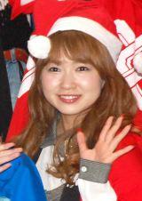 ホリプロクリスマスファンイベント『Silent Night ホーリーNight〜聖こない夜〜』に出席した谷澤恵里香