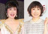 『第66回NHK紅白歌合戦』で真・衣装女王が決まる? (左から)小林幸子&水森かおり (C)ORICON NewS inc.