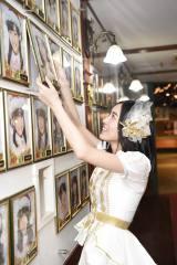 AKB48として最後の劇場公演を終えた松井珠理奈 (C)AKS
