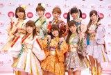 『第66回NHK紅白歌合戦』出場歌手発表会見に出席したμ's (C)ORICON NewS inc.