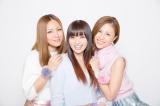 MAX(左から)LINA、MINA、NANA(写真:ウチダアキヤ)