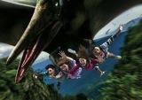 春にオープン予定の新規フライング・コースター『ザ・フライング・ダイナソー』(R)&(C) Universal Studios & Amblin Entertainment (C)&(R) Universal Studios.?All rights reserved. (画像提供:ユニバーサル・スタジオャパン)