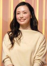 TBS系連続ドラマ『ダメな私に恋してください』制作発表会見に出席したミムラ